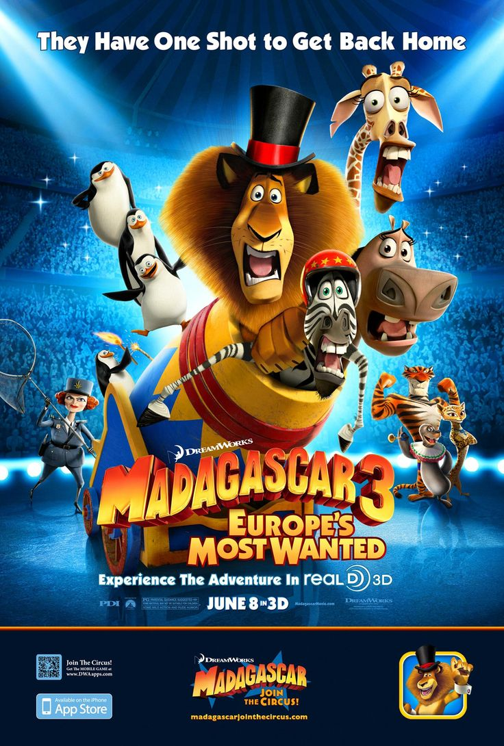 movies posters Madagascar 3 Europe's Most Wanted Movie