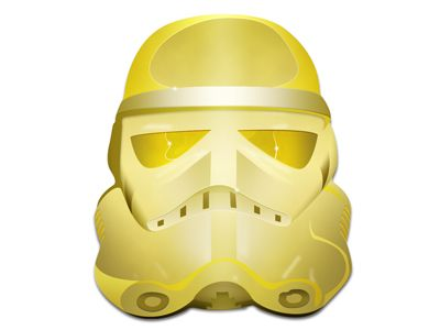 Stormtrooper Gold by Thomas Olofsson