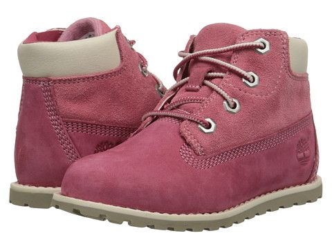 "Timberland Kids Pokey Pine 6"" Boot w/ Side Zip (Toddler/Little Kid)"