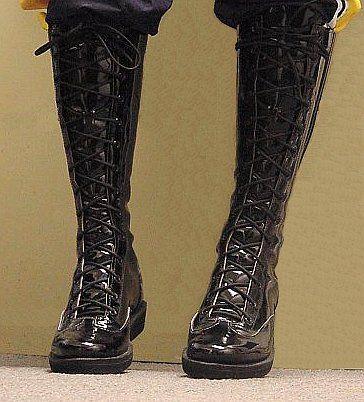 Patent Leather Pro Wrestling Boots Dune Pinterest