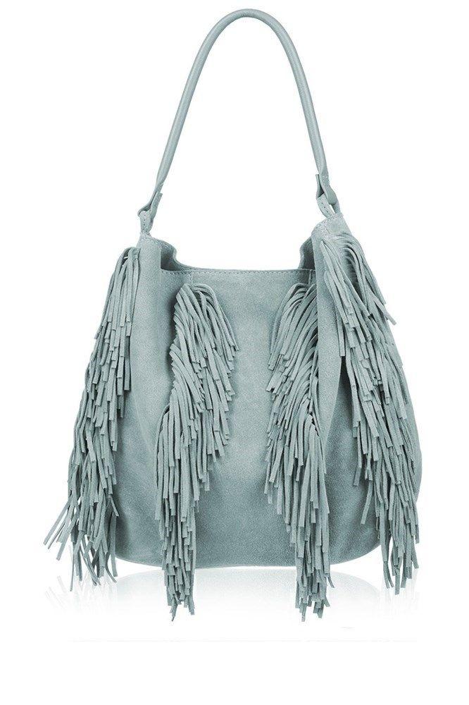 El accesorio de la temporada: El bolso con flecos