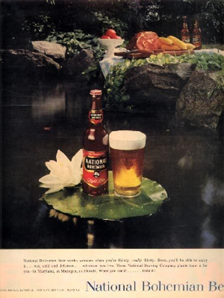 National Bohemian Beer.