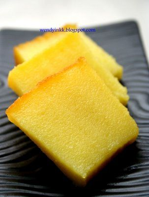 Table for 2.... or more: Bingka Ubi (Baked Cassava Cake) 木薯糕