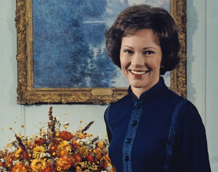 Розалин Картер (Смит) Первая леди США с 1977 по 1981 год