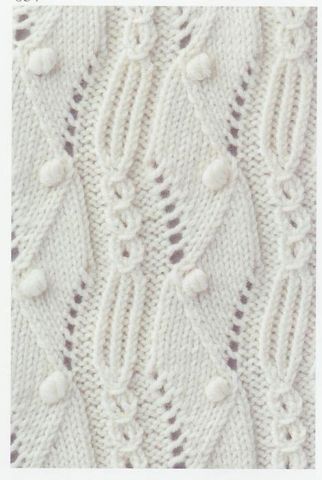 Lace Knitting Stitch #58 | Lace Knitting Stitches