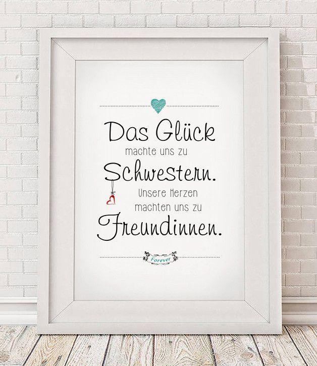 """""""Schwestern"""" - Kunstdruck"""
