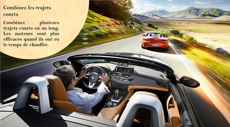 Combinez les Courses Un voyage plus long avec un moteur chaud est bien meilleur que plusieurs trajets avec un moteur froid. Le fait de planifier un trajet efficace vous fera même économiser plus d'argent une fois à la pompe à essence. #nokianhakkapeliitta8