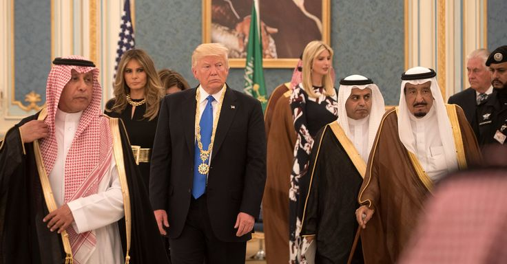 #MONSTASQUADD Trump Gifts From Saudi Arabia: Tiger Fur Robes and Chiffon Dresses