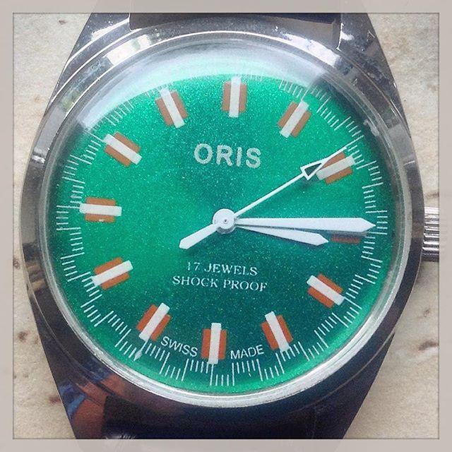 #oris #uhr #watch #oriswatch #swissmade #wristwatches #armbanduhren #realvintage #alteuhren #vintagewatch