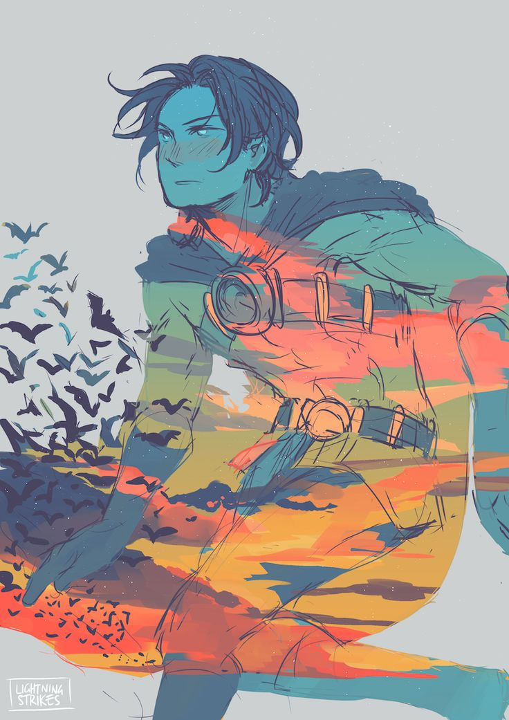 Red Robin. Tim Drake.