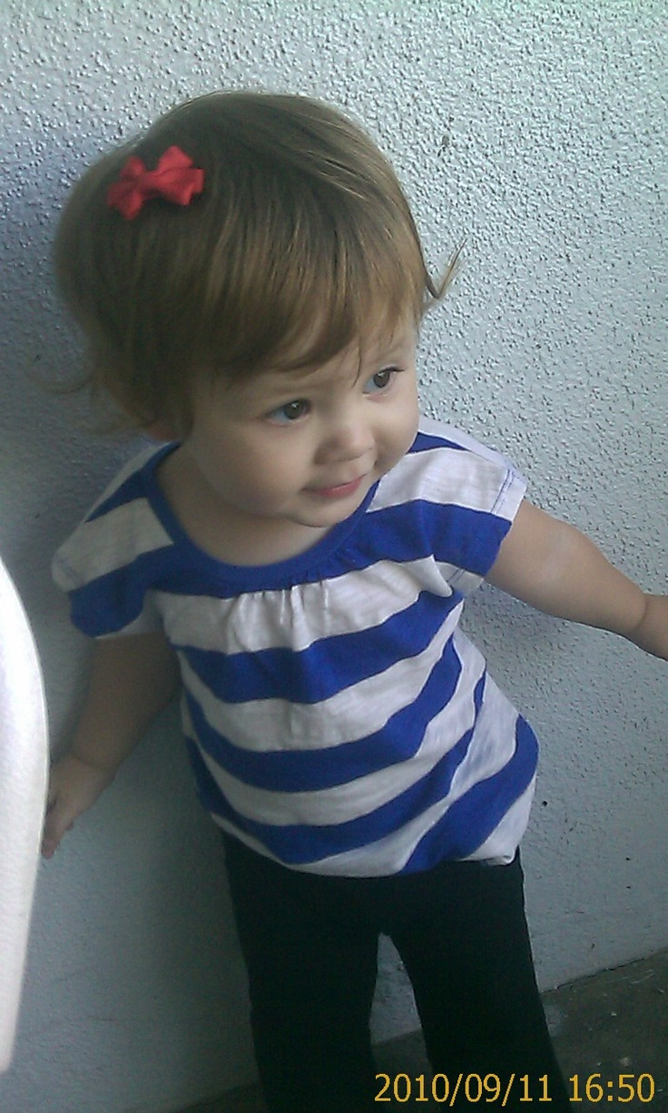 Audrina...so stylish! Cute mixed Asian baby!