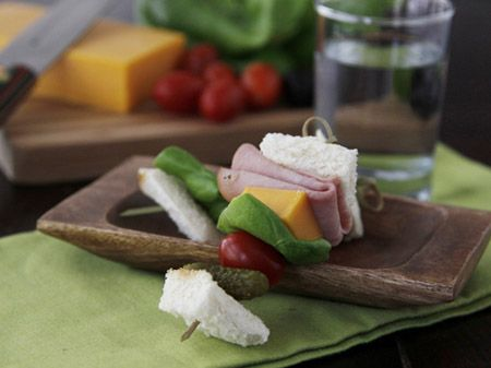 Sandwich on a Stick: A Fun, Can't-Miss Lunch! Jump start your summer ...