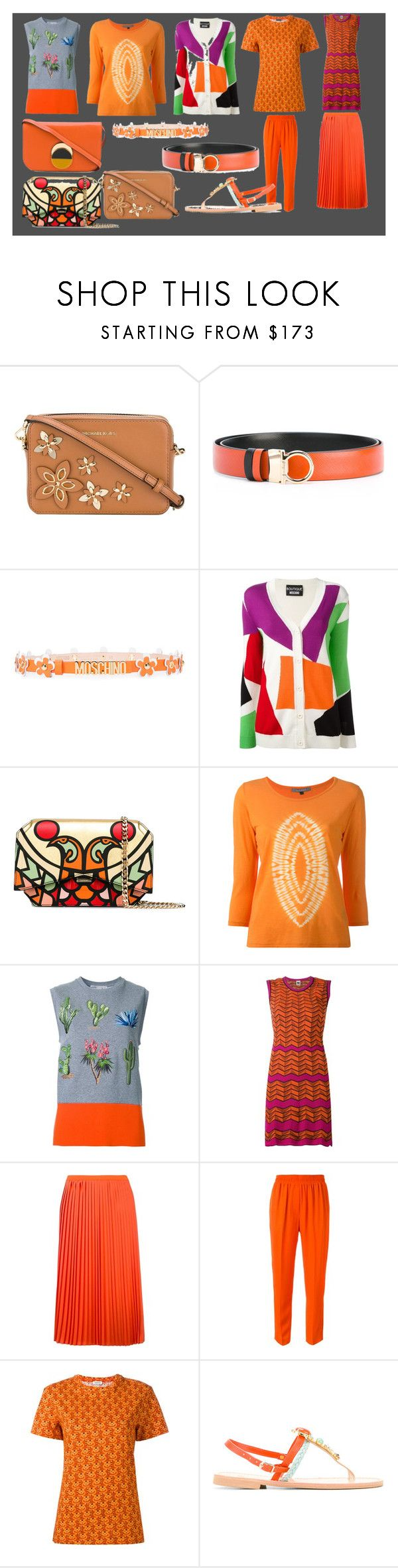 """""""casual wear weekend sale"""" by monica022 ❤ liked on Polyvore featuring MICHAEL Michael Kors, Salvatore Ferragamo, Moschino, Boutique Moschino, Givenchy, Suzusan, STELLA McCARTNEY, M Missoni, MM6 Maison Margiela and 3.1 Phillip Lim"""