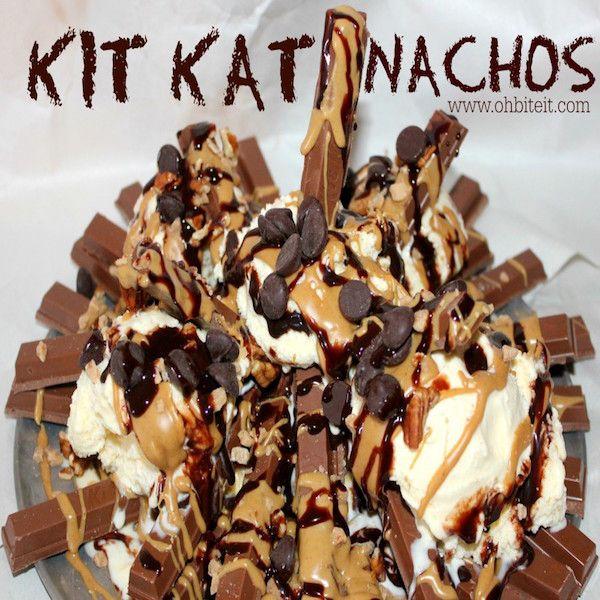 Kit Kat Nachos - this is just craziness