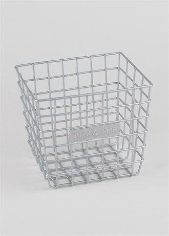 'Bits & Bobs' Basket (16cm x 14cm x 14cm)