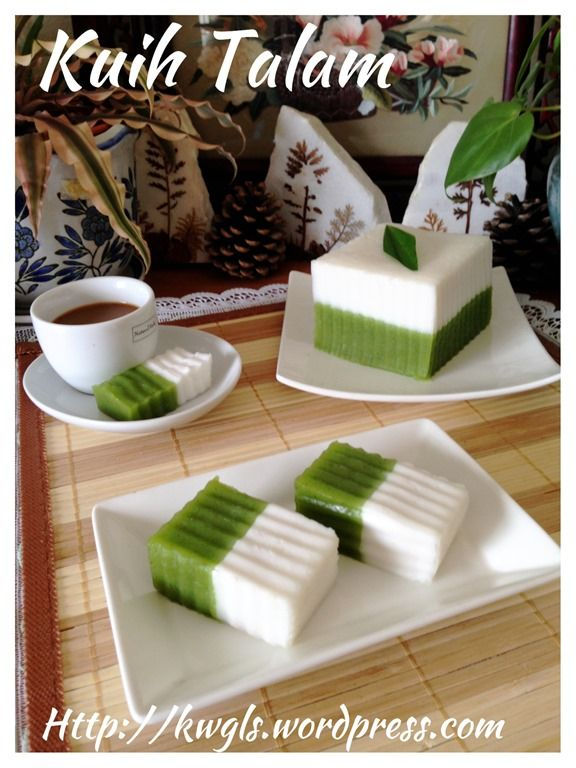 626 best malaysian donesian and singaporean food images on kuih talam kuih talam tepong pandan forumfinder Images