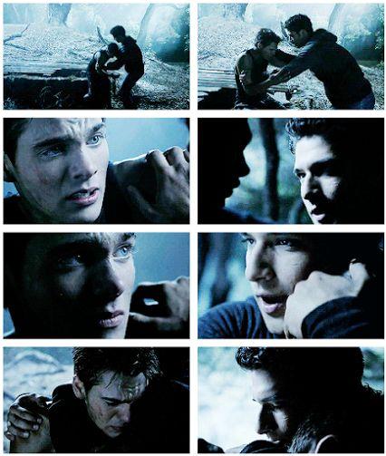 Teen Wolf Season 4 Episode 6 - Scott and Liam (I love this scene very much <3)