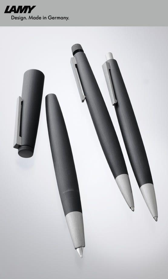 LAMY 2000  Fountain pen, Mechanical pencil and Ballpoint pen Designer: Gerd A. Müller
