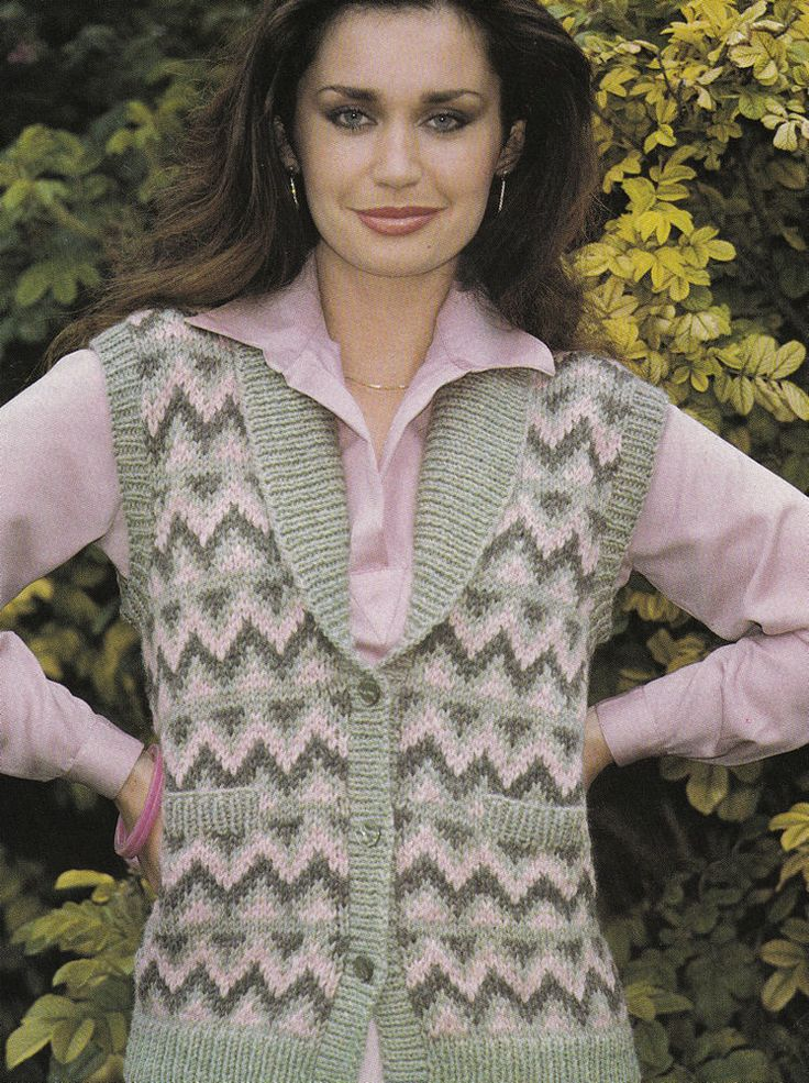 Knitting Patterns Ladies Waistcoats : 1000+ images about knitting on Pinterest