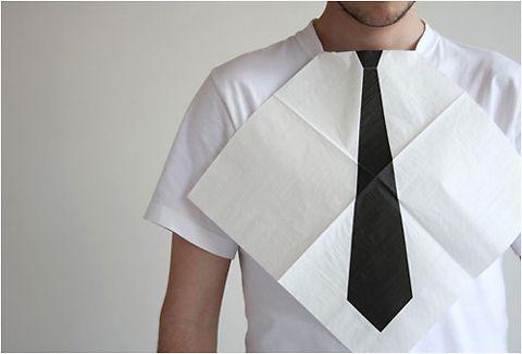 black tie napkins