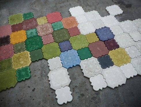 228 best tile todd likes images on pinterest portuguese tiles ivanka flaster concrete coverings avantegarde malvernweather Choice Image