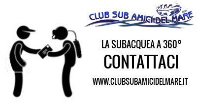 www.clubsubamicidelmare.it  #subacquea #contatti #immersioni #corsi #specialità #nitrox #fotosub #openwater #advanced #divemaster #istruttoresub