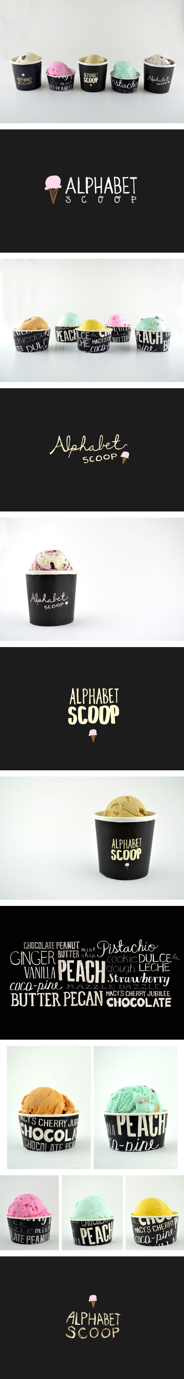 Alphabet Scoop Packaging by Rebecca Lim