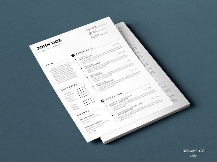 61 best resume images on Pinterest Resume templates, Curriculum - windows resume templates