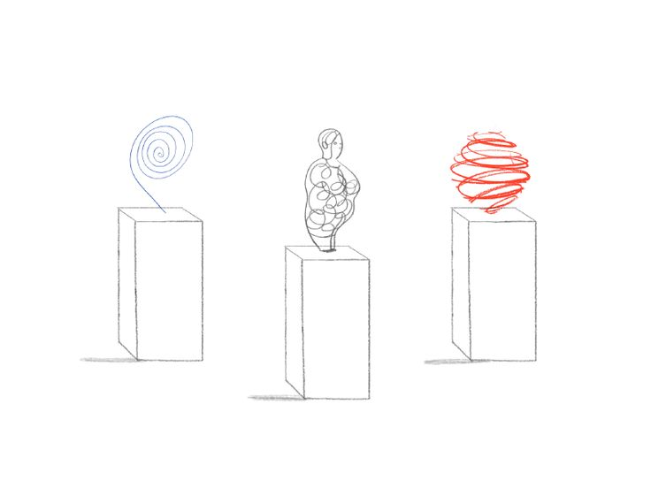 "SINGLE GIF: Museum. '""Artfund"" by Animade on Nov. 27, 2017. We teamed up with illustrator Marion Deuchars to make an animation full of treasures for charity Art Fund—http://animade.tv/work/art-fund.' NOTE: PRESS ""READ IT"" TO SEE 2 MORE GIFS + 2 STATIC IMAGES FROM THIS CREATOR.          NTS: I pinned all the GIFs in this collection."