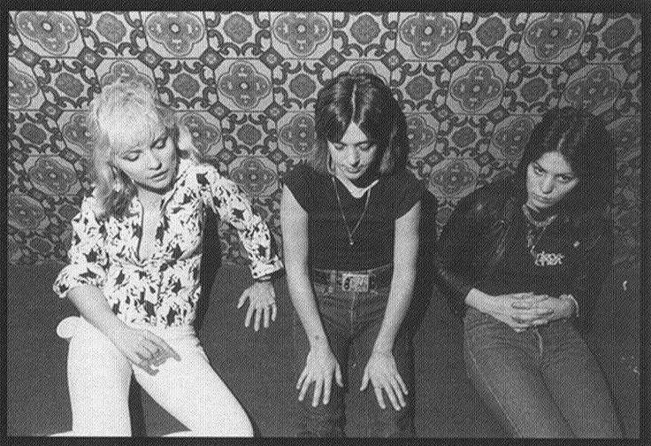 Debbie Harry, Suzi Quatro and Joan Jett in 1977