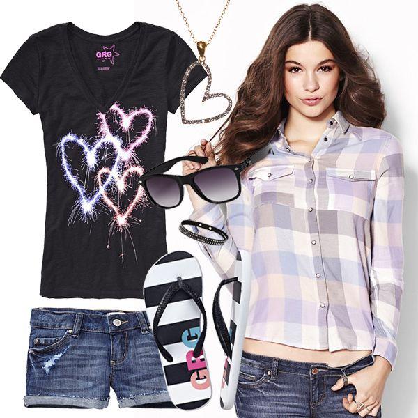Style Collage http://prettyprincess.us/teen-fashion-blog/garage-teen-fashion
