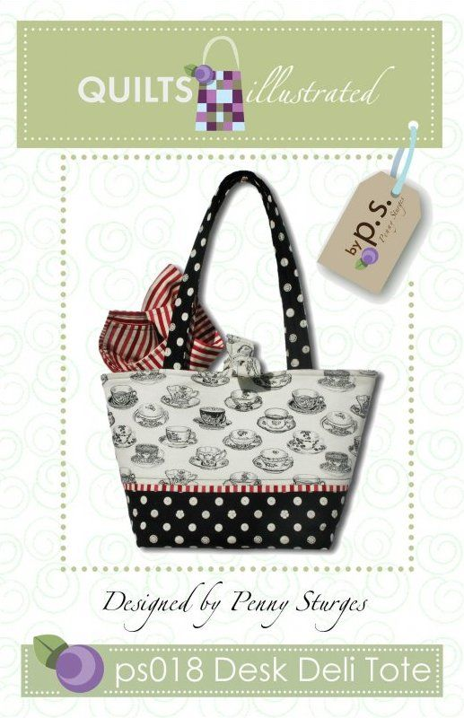 ps018 Desk Deli Tote Pattern:
