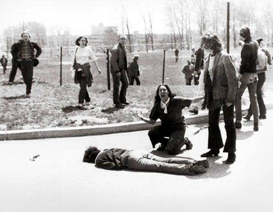 Pulitzer award 1971. Masacre en Universidad Estatal de Kent (original)