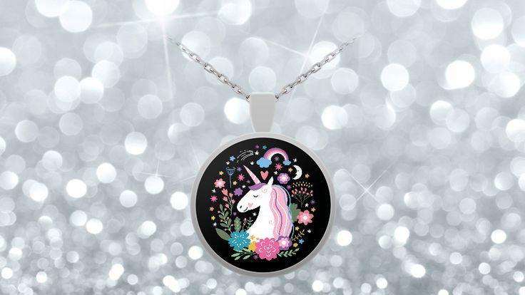 Magical Unicorn Pendant Necklace For Unicorn Lovers
