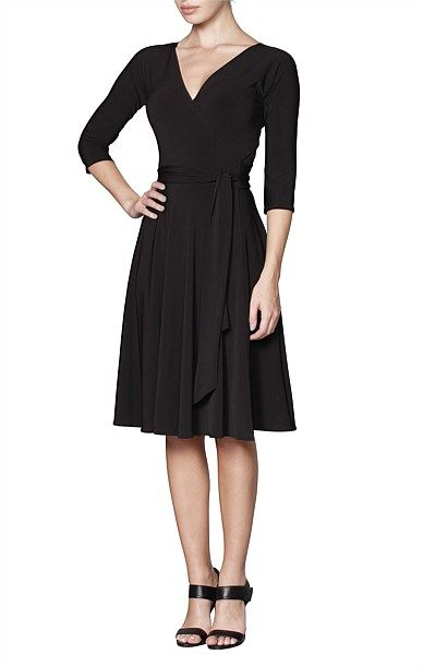 Sasha Drake - Shop Solutions - REVERSE WRAP DRESS (FULL SKIRT)