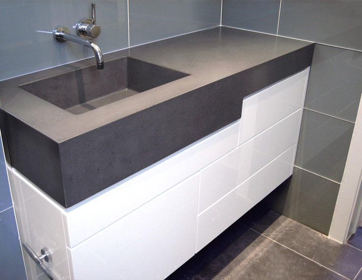 43 best images about custom concrete bathroom sinks 18031