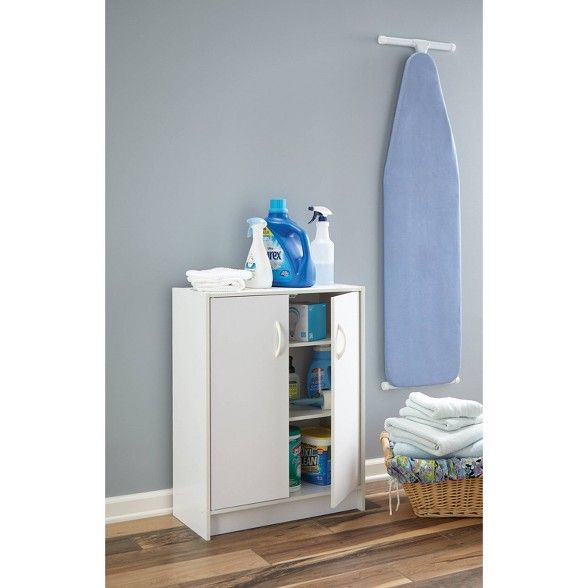 Closetmaid Two Door Storage Cabinet White Door Storage Closetmaid Storage Cabinet