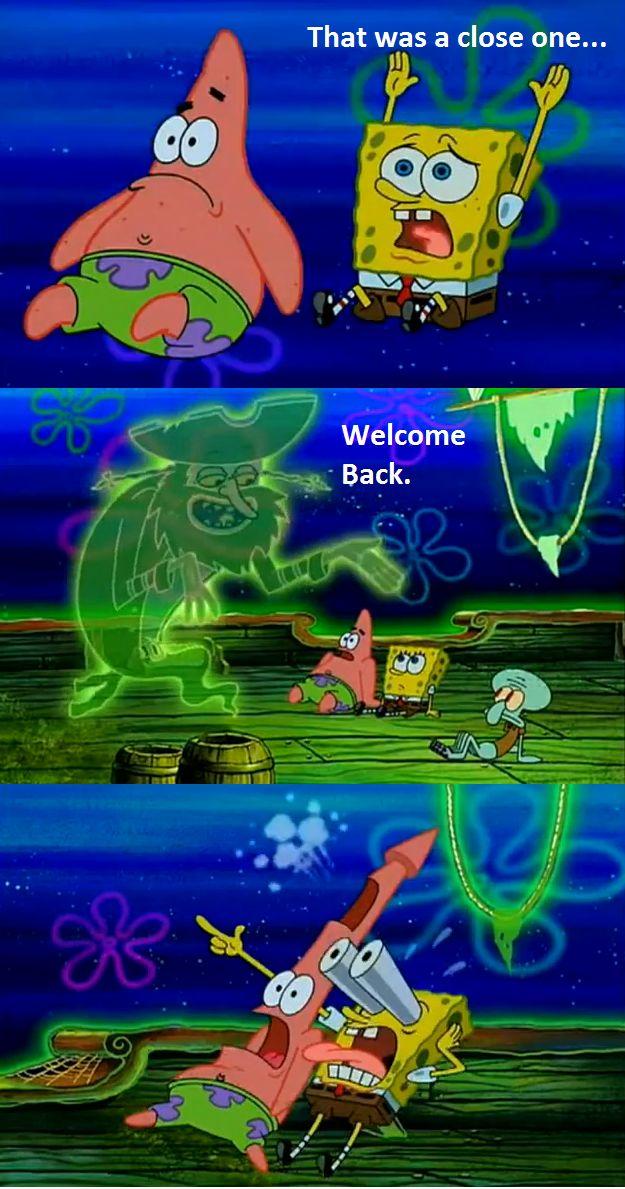 back !! Spongebob memes, back meme