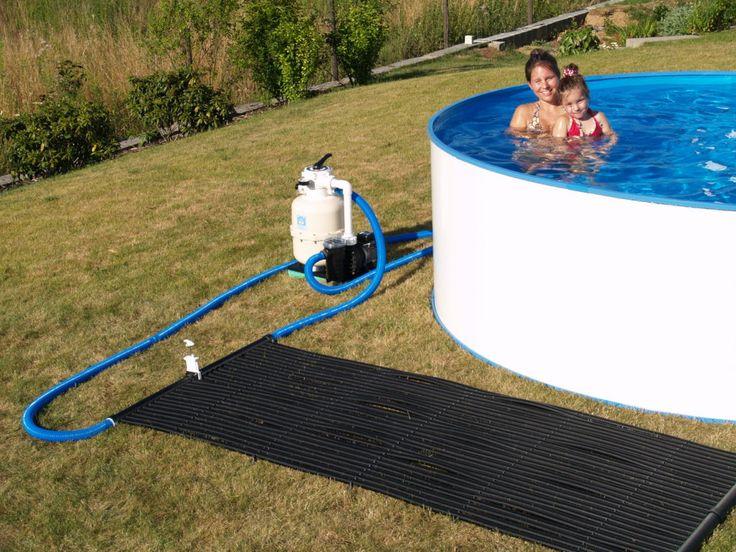 Die besten 25+ Solarheizung für das Schwimmbad Ideen auf Pinterest - solar fur pool selber bauen