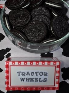 Tractor Wheels for Farm-Themed Party