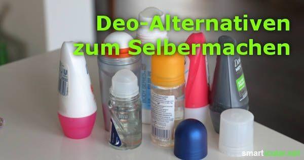 12 Rezepte für günstige und gesunde Deodorants zum Selbermachen