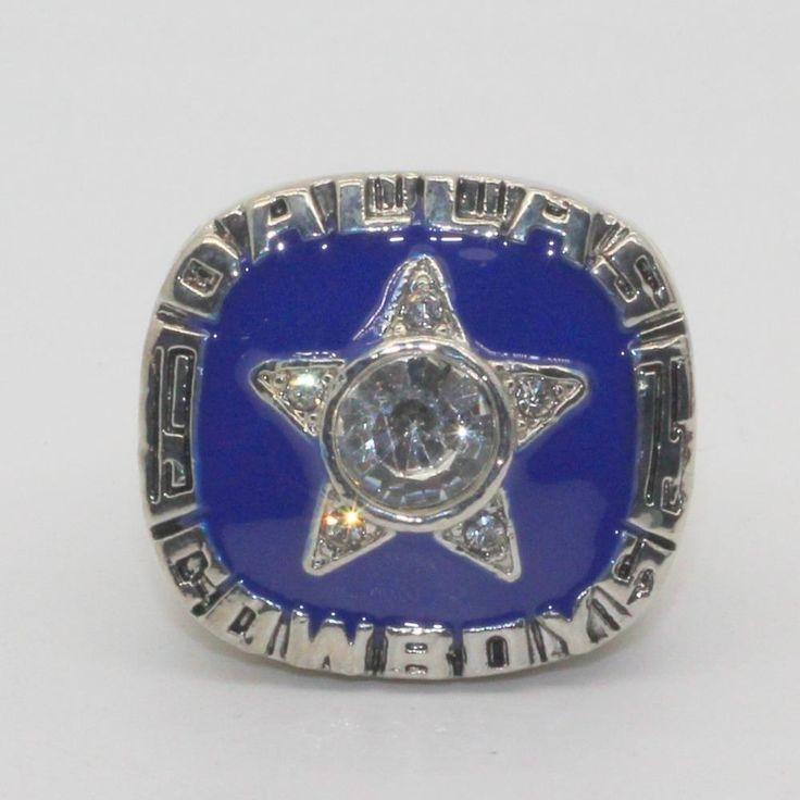 1975 super bowl dallas cowboys world serise championship ring
