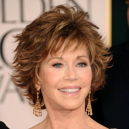 Jane Fonda Hair Style October 2017
