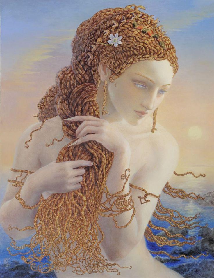 Kinuko Y. Craft. Medusa.