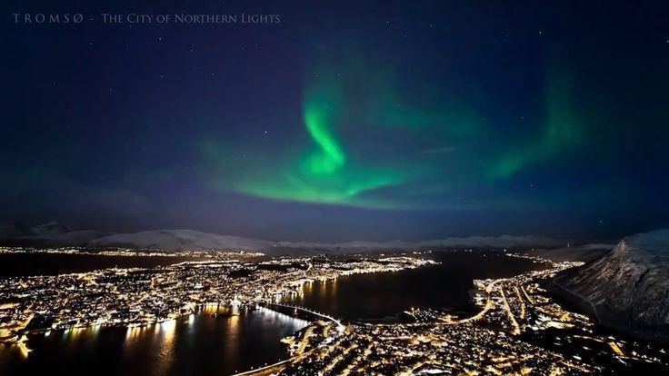 Северная Норвегия #Norway #aurora