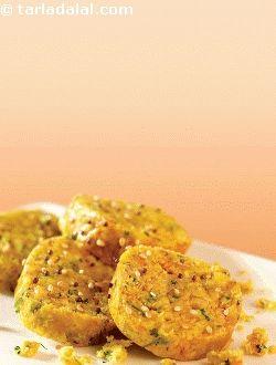 Cabbage Jowar Muthias ( Know Your Flours ) recipe | Indian Flour Recipes, Indian Flour Details | by Tarla Dalal | Tarladalal.com | #33147