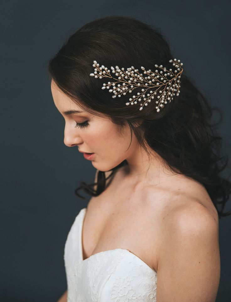 Davie & Chiyo bridal headpiece