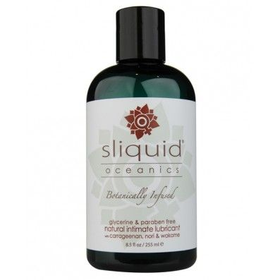 Sliquid Oceanics Lubricant is paraben and glycerine free. Perfect for sensitive skin!