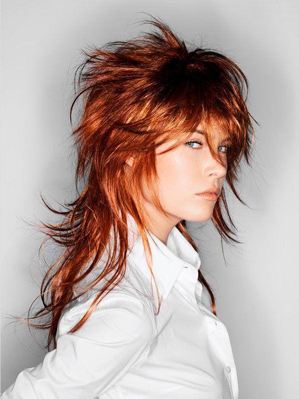 Стрижка гаврош или прическа маллет на средние и длинные волосы - как стричь - Стрижки средней длины - Стрижки - Каталог статей - Стрижки и прически своими руками