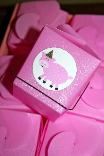 Pig Party Treat Boxes